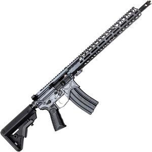 "BAD Authority Elite AR-15 5.56 NATO Semi Auto Rifle 16"" Barrel 30 Rounds 15"" Freefloat M-LOK Handguard B5 Collapsible Stock Combat Gray Finish"