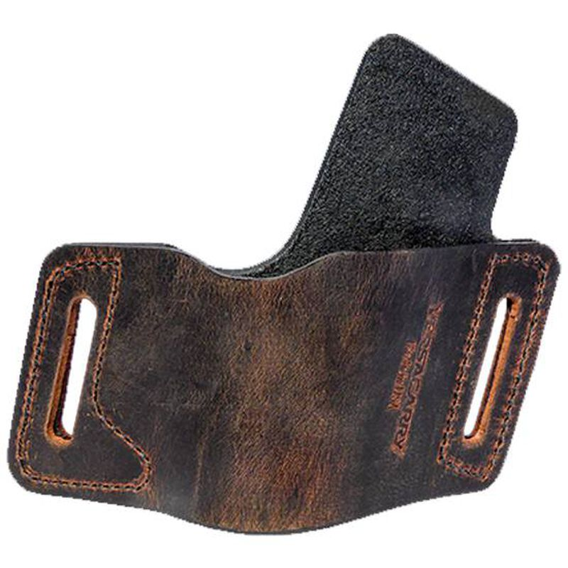 VersaCarry Protector Belt Slide Holster Size 1 Double Stack Autos Right Hand Leather Brown WBOWB21