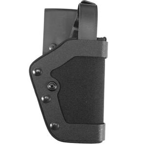 Uncle Mike's PRO-2 GLOCK 20, 21, 29, 30, 36, S&W M&P Level II Duty Holster Right Hand Size 25 Kodra Nylon Black 43251