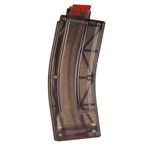 Kel-Tec SU22 and PLR22 Magazine .22 Long Rifle 26 Round Polymer Semi Transparent Smoke SU22-735