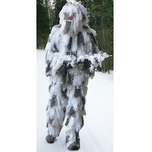Red Rock Outdoor Gear Ghillie Suite 5 Piece Adult XL/XXL Snow Camo 70917XLXXL