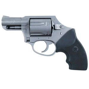 "Charter Arms Undercover Hammerless Revolver, .38 Special, 2"" Barrel, 5 Rounds, Stainless/Black"