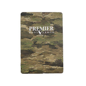 """Premier Body Armor STRATIS Rifle Rated Backpack Insert 9"""" x 13"""" Level III A-TACS iX"""