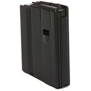 DURAMAG By C-Products Defense AR-15 6.8 SPC Magazine Five Rounds Steel Black 0568041187