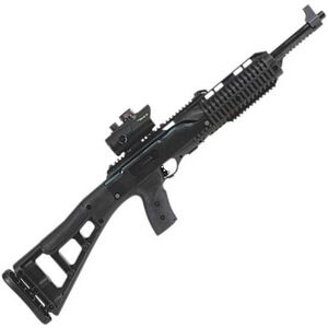"Hi-Point 4595 Semi Auto Rifle .45 ACP 17.5"" Barrel 9 Rounds Red Dot Sight Picatinny Rails Polymer Stock Black 4595TSRD"