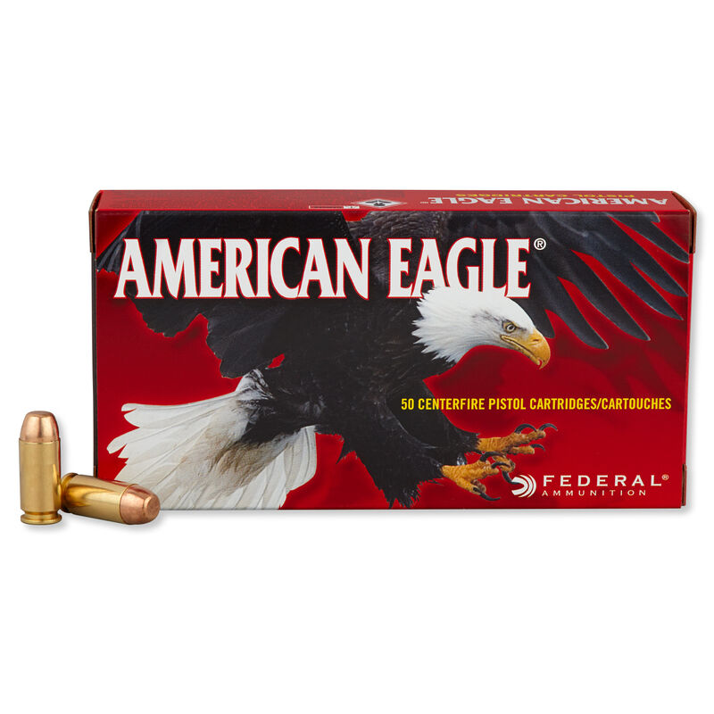 Federal American Eagle .40 S&W Ammunition 1,000 Rounds FMJ 180 Grains AE40R1