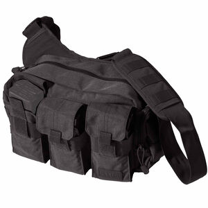 5.11 Tactical Bail Out Bag 9L Capacity 6 AR magazine Storage All Weather 1050D Nylon Black