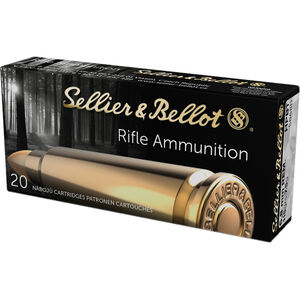 Sellier & Bellot Target/Match 6.8 SPC Ammunition 20 Rounds 115 Grain HPBT 2477fps