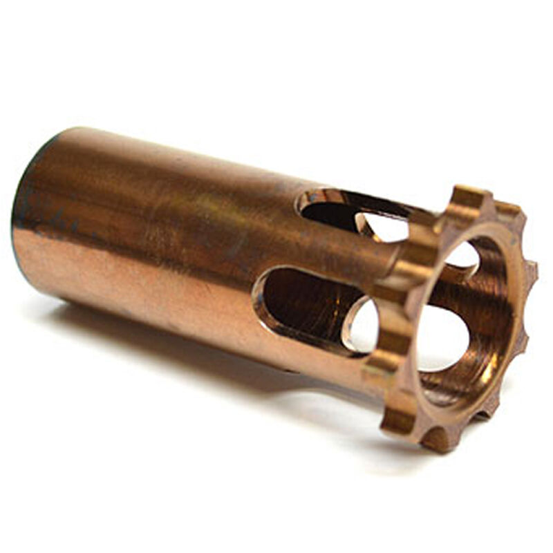 Rugged Suppressors Obsidian 45 Piston 1/2x28 Stainless Steel Copper Finish