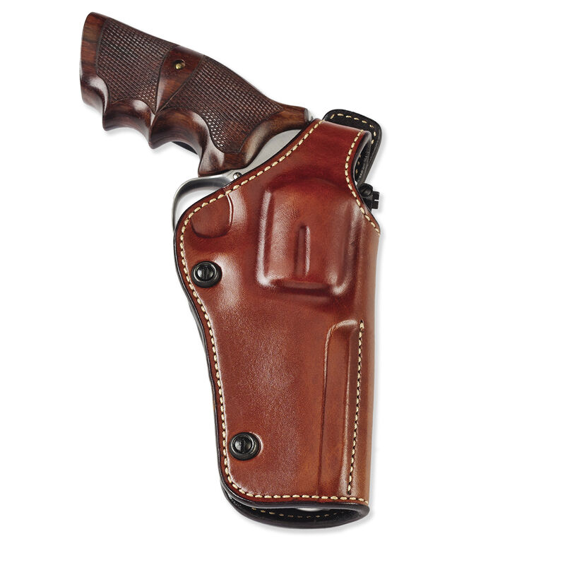 """Galco Phoenix Belt Holster Fits S&W N-Frame 4"""" Revolver Right Hand Leather Tan"""