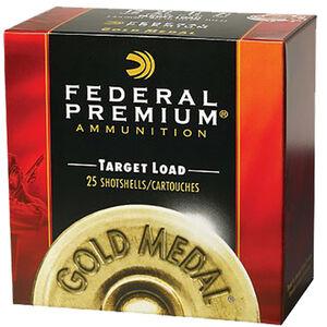 "Federal Premium Gold Medal Plastic 28 Gauge Ammunition 2-3/4"" #9 Lead Shot 3/4 Ounce 1230 fps"