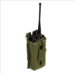 5.11 Tactical MOLLE/Slick Stick Radio Pouch Nylon OD Green 58718