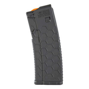 Hexmag Series 2 AR-15 15 Round Magazine/30 Round Body .223 Rem/5.56 NATO/.300 AAC Blackout PolyHex2 Advanced Composite Polymer Dark Gray