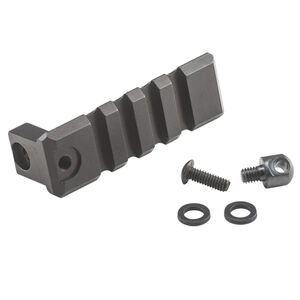 Luth-AR CTK Buttstock Picatinny Rail For MBA-1 And MBA-2 Stocks Aluminum Black CTK-RAIL