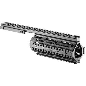 FAB Defense VFR Carbine Length AR-15 Free Floating Quad Rail Sysytem Black