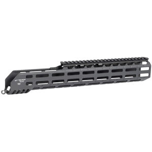"Midwest Industries SIG Sauer MCX Virtus 15"" One Piece Drop In M-LOK Compatible Hand Guard 6061 Aluminum Hard Coat Anodized Finish Matte Black"