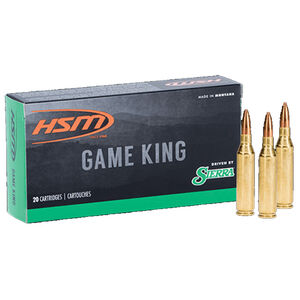 HSM .300 AAC Blackout 125 Grain SPT 20 Round Box