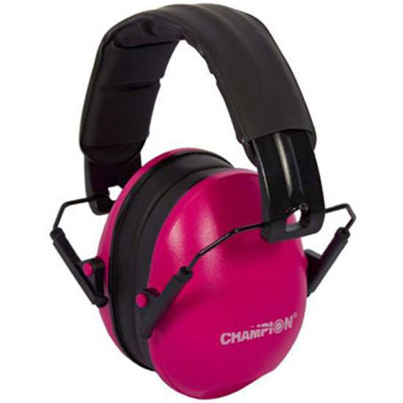 Champion Passive Ear Muffs Pink 21 dB NRR 40972