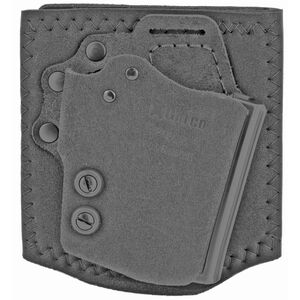 Galco Ankle Guard GLOCK 43 / Springfield Hellcat Ankle Holster Right Hand Black