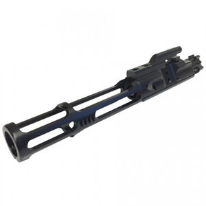 Guntec AR-15 Nitride Skeletonized Low Mass Bolt Carrier Group Mil-Spec BCG 8.6 oz. USA Made Black