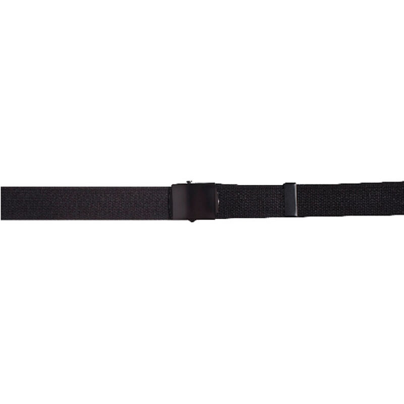 """5ive Star Gear Web Belt With Black Closed Face Buckle 54"""" Black"""
