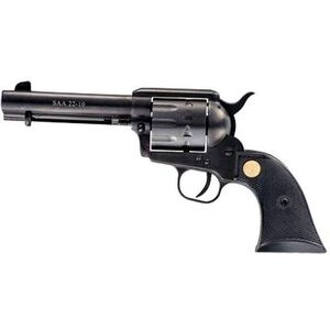 """Chiappa Firearms 1873-22 Dual Cylinder Single Action Revolver .22 Long Rifle, .22 Magnum 7.5"""" Barrel 10 Rounds Plastic Grip Blued Finish CF340.170D"""