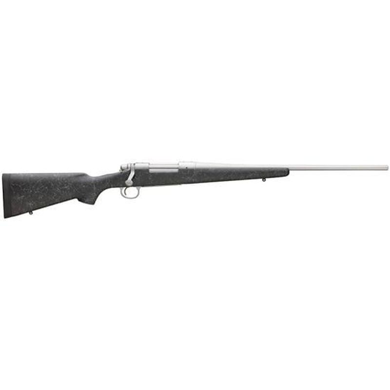 """Remington 700 Mountain SS Bolt Action Rifle .308 Win 22"""" Stainless Barrel 4 Rounds Adjustable Trigger Bell and Carlson Reinforced Stock 84277"""
