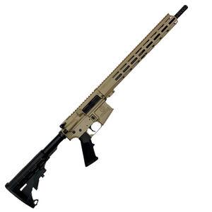 "GLFA .223 Wylde Rifle .223 Wylde Semi-Auto Rifle 16"" Barrel 30 Rounds Flat Top Optics Ready Synthetic Black Stock Flat Dark Earth Finish"