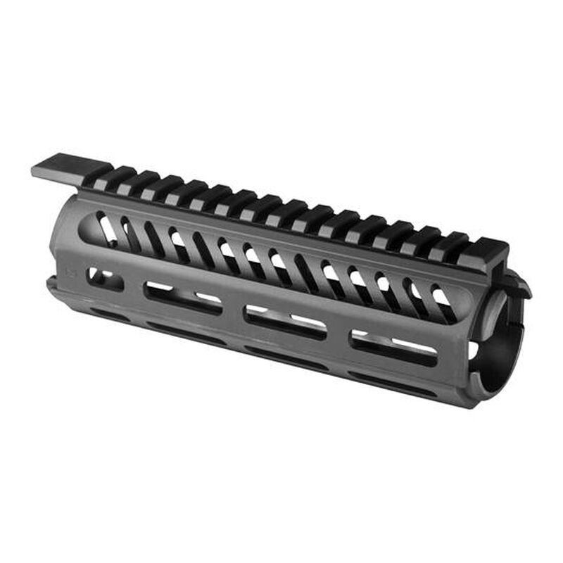 "Mission First Tactical TEKKO AR-15 7"" Carbine Drop In M-LOK Rail System 6061 Aluminum Hard Coat Anodized Matte Black"