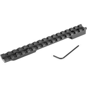 EGW Mauser 98 Large Ring Picatinny Rail Scope Mount 0 MOA Aluminum Matte Black