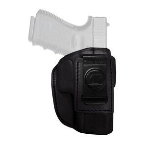 Tagua Gunleather 4 In 1 Inside the Pants Holster SIG P938 IWB Belt Clip Right Hand Plain Black IPH4-465