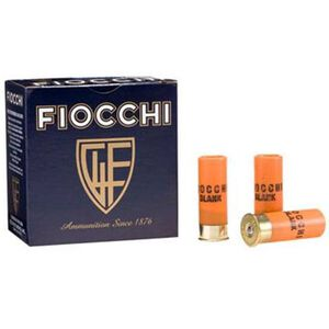 "Fiocchi Specialty Blanks 12 Gauge Ammunition 25 Rounds 2-3/4"" Shooting Dynamics Shotgun Blanks"