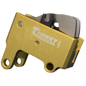 Timney Trigger for IWI Tavor 4 LBS Non Adjustable Self Contained Drop In Trigger 6061-T6 Aluminum Housing Gold 680