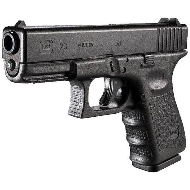 """GLOCK 23 Gen3 .40 S&W Semi-Auto Pistol, 4.01"""" Barrel, 13 Rounds, Black"""