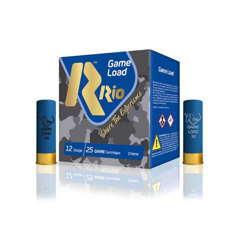 "RIO Ammo Top Game High Velocity 36 12 Gauge Shot Shells 250 Rounds 2 3/4"" 1 1/4 oz #5 Shot"