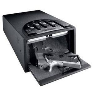 "GunVault Mini Combination Handgun Safe 8.1""x4.9""x12"", 16 Gauge Steel"