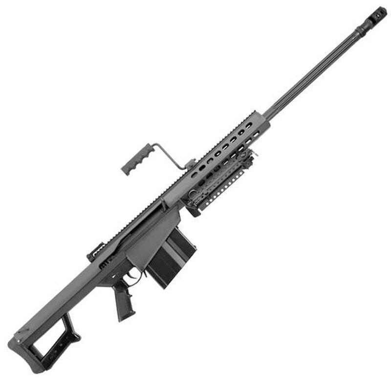 M1913 Steel optics rail (27 MOA elevation), dual barrel springs, chrome chamber, carry handle, bipod, hard carrying case. 416 Barrett, 10rd, 29†Fluted.