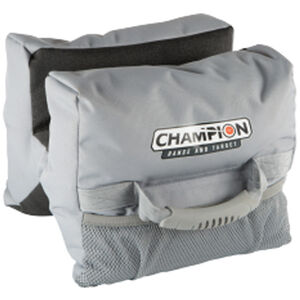 Champion Targets Accuracy X-Ringer Bag Carry Handle Tough Hide Gray and Black