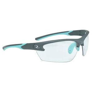 Radians Ladies Range Eyewear Adult Safety/Shooting Glasses Clear Lens Aqua/Charcoal Frame