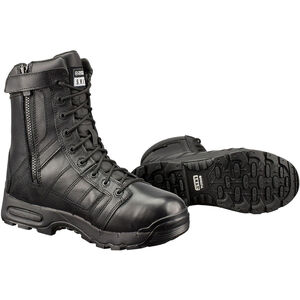 "Original S.W.A.T. Metro Air 9"" SZ 200 Men's Boot Size 8 Regular Non-Marking Sole Water Proof Insulated Leather Black 123401-8"
