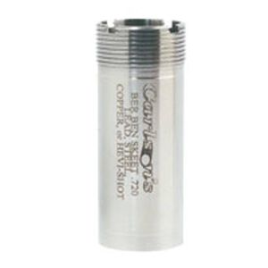 Carlson's 12 Gauge Beretta and Benelli Mobil Flush Mount Choke Tube Improved Cylinder 17-4 Stainless Steel 16613