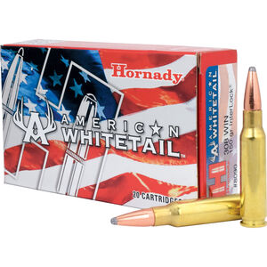 Hornady .308 Winchester Ammunition 20 Rounds Interlock SP 150 Grains 8090