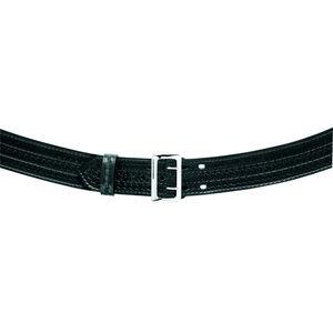 "Safariland Model 872 Contoured 2.25"" Duty Belt Suede Lined 30"" Waist Plain Black 872-30-6"