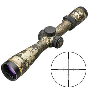 Leupold VX-6HD 3-18x44 Riflescope Illuminated T-MOA Reticle 30mm Tube .25 MOA Adjustments Second Focal Plane Aluminum Sitka Subalpine Finish