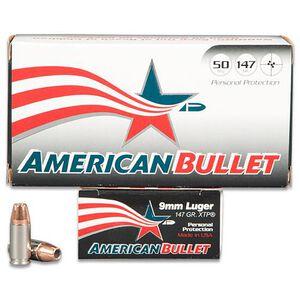 American Bullet 9mm 50 Rounds, JHP, 147 Grain