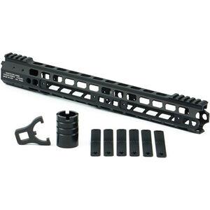 "Manticore AR-15 15"" Transformer Gen II Handguard Modular Free Float Rail System Aluminum Black"