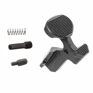 Luth-AR AR-10 The Paddle .308 Oversize Bolt Catch with Spring, Buffer and Screw Steel Black