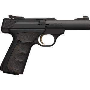 "Browning Buckmark Micro Bull Semi Auto Rimfire Pistol .22 LR 4"" Bull Barrel 10 Rounds Aluminum Alloy Frame Ultragrip FX Rubber Grips Matte Black"