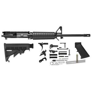 "Del-Ton AR-15 Carbine Completion Kit 5.56 NATO 16"" Barrel 1:9 Twist Black RKT101"