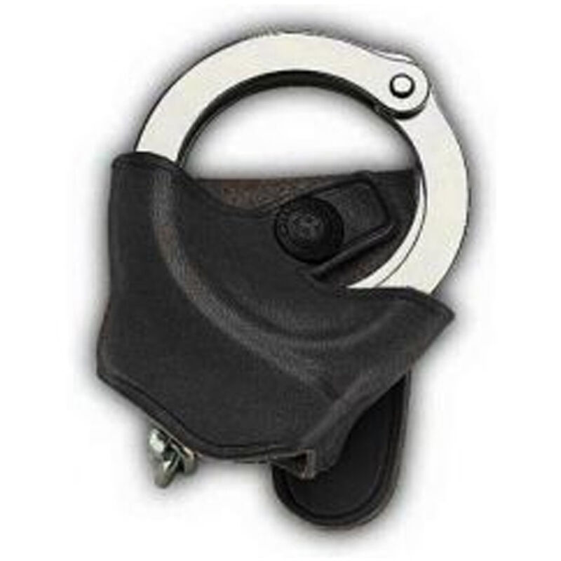 Galco SC9 Handcuff Case for Belt or Shoulder System Leather Right Hand Black SC92B